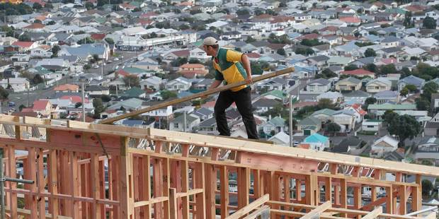 Canterbury building work rose 23 per cent in the first quarter. Photo / Mark Mitchell