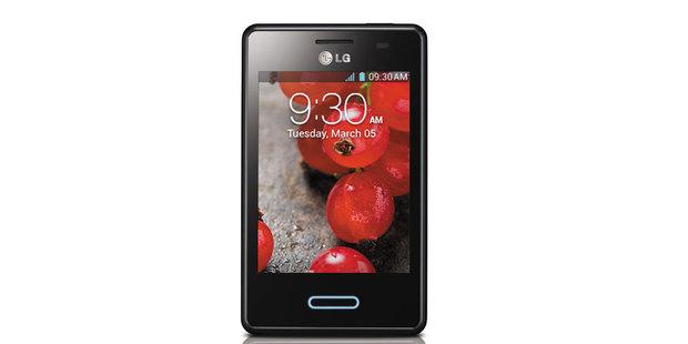 The LG Optimus L3II. Photo / Supplied