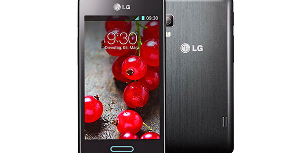 The LG Optimus 5II. Photo / Supplied