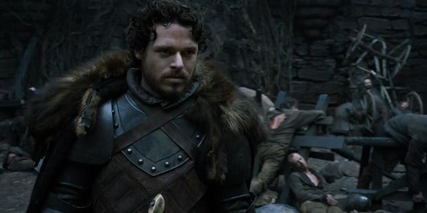 Richard Madden as Robb Stark. Photo/Supplied