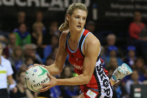 Jane Watson of the Tactix. Photo / Getty Images