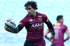 Johnathan Thurston trains ahead of State of Origin I. Photo /Getty Images