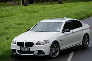 BMW 530d Performance Edition carries about $40,000 worth of equipment. Pictures / David Linklater