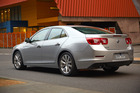 2013 Holden Malibu CDX. PHOTO / SUPPLIED DRIVEN USE ONLY