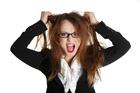 Stop getting so stressed and save your hair.Photo / Thinkstock
