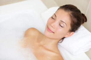 Take time to have a relaxing bath.Photo / Thinkstock