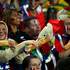 French fans before the first test match between the New Zealand All Blacks and France at Eden Park. Photo / Getty Images