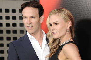Stephen Moyer has revealed the names of his twins with Anna Paquin during an interview. Photo / AP