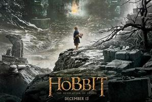 The newly released poster for The Hobbit: The Desolation of Smaug. Photo / Twitter