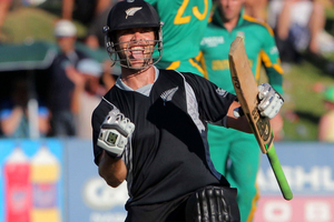 New Zealand selectors might give thought to opening with James Franklin. Photo / Getty Images.