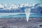 Google is testing the balloons which sail in the stratosphere and beam the internet to Earth.