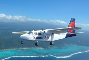 Samoa Air says bookings are up.