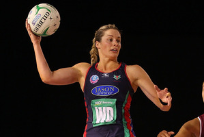 Julie Corletto has been ruled out of the Mystics' final two matches with a foot injury. Photo / Getty Images
