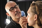 MAC senior vice-president of global artist training, development and makeup artistry Gordon Espinet. Photo / Luca