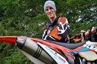 Glen Eden's Chris Birch (KTM 350XC-F) has yet another Enduro win under his belt. Pictures / Andy McGechan, bikesportnz.com