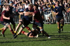 Kings College and Auckland Grammar clashed last weekend in what has been lauded as