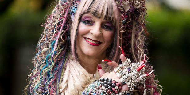 Country singer Lynnette Karam-Whalley says she never takes off her bracelets. Photo / Greg Bowker