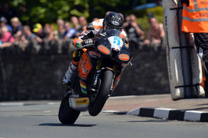 Kiwi Bruce Anstey at the Isle of Man TT. Photo / Supplied