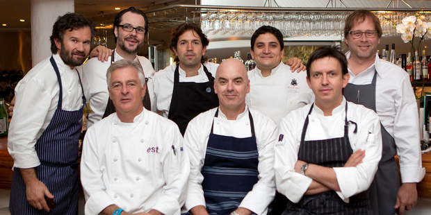 Chefs at the Noosa Food and Wine Festival.
