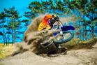 Pahiatua's Paul Whibley (Yamaha), rated among the world's elite off-road motorcycle racers. Picture / Andy McGechan, BikesportNZ.com
