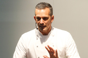 Josh Emett says chefs should listen to their food. Photo / Christine Cornege