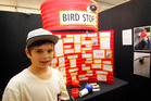 Brad Martin hopes his bird stop innovation will take off. Photo / Christine Cornege