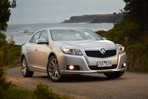 Holden's new Malibu comes across as a sensible car in a competent package. Photo / Supplied
