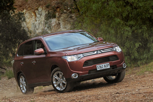 Mitsubishi Outlander. Photo / Supplied