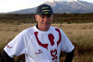 Mike Tennent has been inspired to attempt the 52 in 52 challenge as a result of the help Hospice gave to his dying mum.