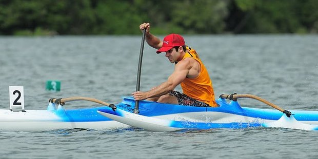 Felipe Dos Santos has found canoeing standards to be high in New Zealand.
