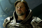 Russell Crowe as Jor-El in Man of Steel.