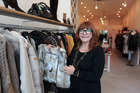 Siddhi Smith's pop-up store, Encore, is in Newmarket. Photo / Doug Sherring