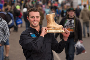 Simon Washer is the Fieldays rural bachelor of the year. Photo / Stephen Barker