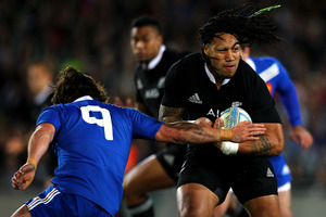 Ma'a Nonu looked world class in last weekend's test after indifferent Super Rugby form. Photo / Getty Images