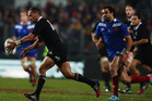 Aaron Cruden had a much improved performance. Photo / Getty Images