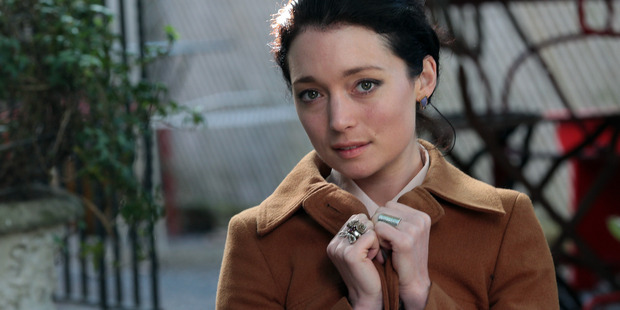 Actress Antonia Prebble. Photo / Doug Sherring
