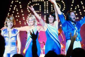 The old Abba film clips on  Sunday  were fun to watch, but hardly groundbreaking. Photo / Supplied