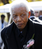 Nelson Mandela leaves the chapel after attending the funeral of his great-granddaughter Zenani Mandela in Johannesburg. Photo / AP