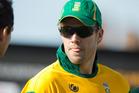 South Africa's captain AB de Villiers. Photo / AP