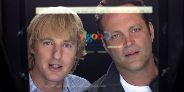 Loading Owen Wilson and Vince Vaughn in 'The Internship'. Photo / AP