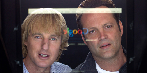Loading Owen Wilson and Vince Vaughn take on Google in their latest mates' outing.