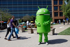 Workers for companies such as Google are seen as belonging to a community inured from social realities. Photo / AP