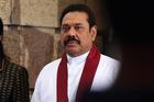 Sri Lankan President Mahinda Rajapaksa. Photo / AP
