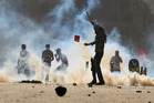 Turkish protesters clash with riot police. Photo / File