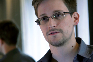 Edward Snowden, who worked as a contract employee at the National Security Agency. Photo / AP