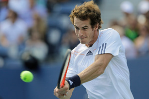 Murray has been training on grass with coach Ivan Lendl and his friend and former British No 1 Tim Henman. Photo / AP