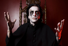 Jaz Coleman from Killing Joke. Photo / Carla Potter