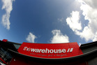 Warehouse Group fell 2.4 per cent to $3.67. Photo / Dexter Murray