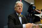 Peter Dunne resigned as a minister after refusing to hand over about half of 86 emails between himself and Andrea Vance, a Fairfax reporter. Photo / Mark Mitchell