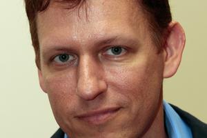 Peter Thiel, American billionaire entrepreneur. Photo / Brett Phibbs